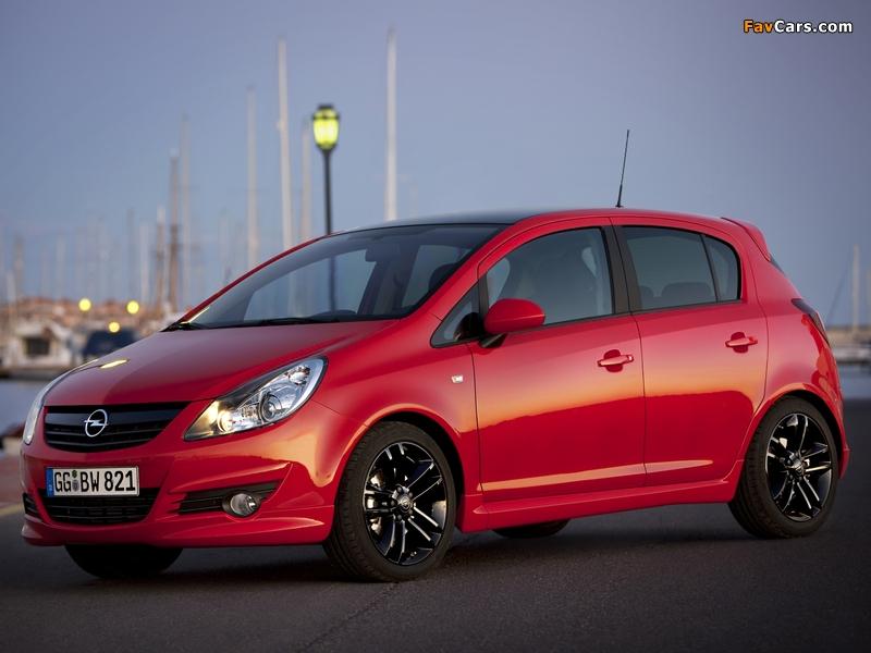 Photos of Opel Corsa Color Edition 5-door (D) 2009 (800 x 600)