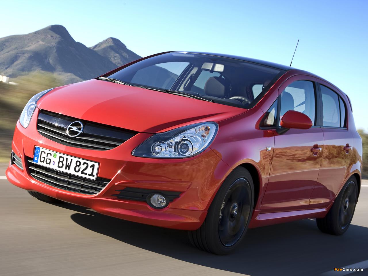 Photos of Opel Corsa Color Edition 5-door (D) 2009 (1280 x 960)
