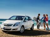 Photos of Opel Corsa 3-door (D) 2009–10