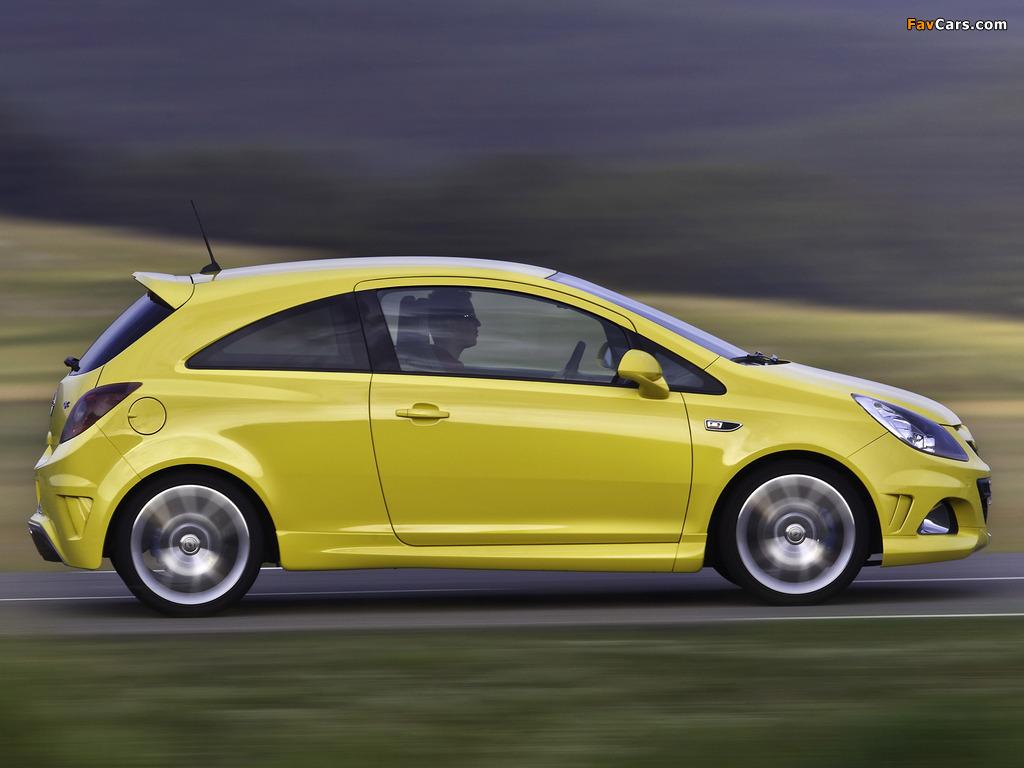 Photos of Opel Corsa OPC (D) 2010 (1024 x 768)