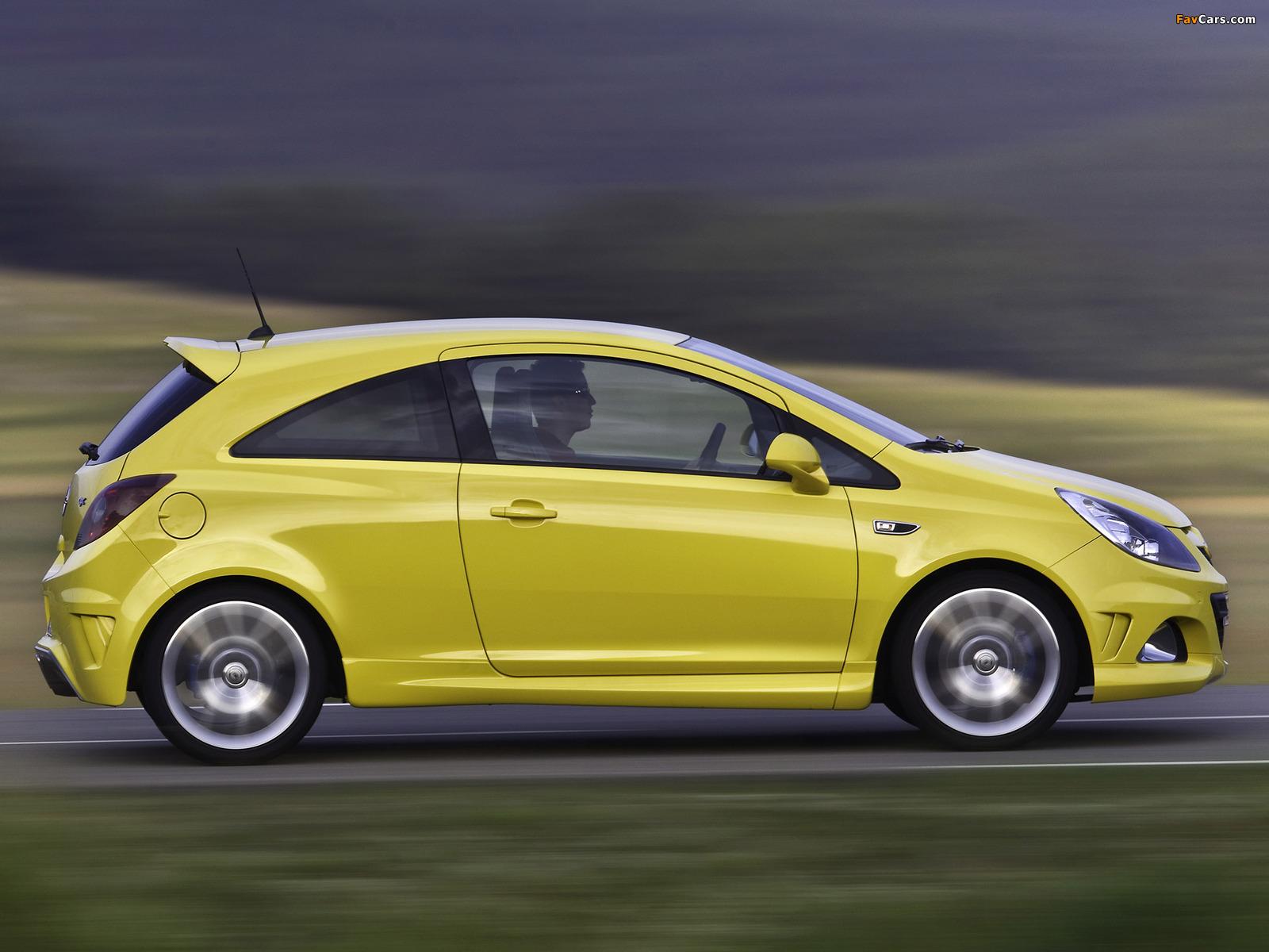 Photos of Opel Corsa OPC (D) 2010 (1600 x 1200)