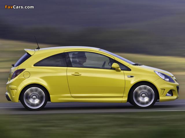 Photos of Opel Corsa OPC (D) 2010 (640 x 480)