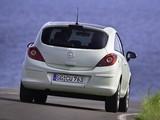 Photos of Opel Corsa 3-door (D) 2010