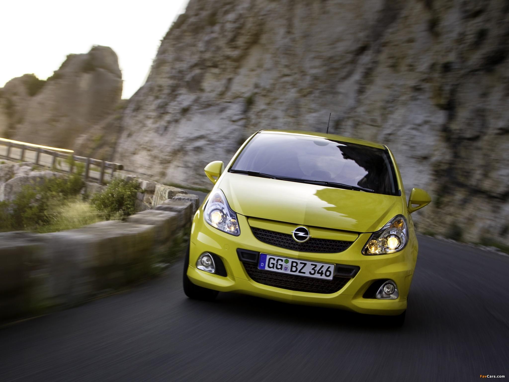 Photos of Opel Corsa OPC (D) 2010 (2048 x 1536)