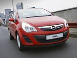 Photos of Opel Corsa 5-door ZA-spec (D) 2011