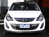 Photos of Opel Corsa Color Edition 3-door AU-spec (D) 2012–13