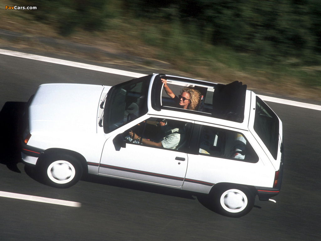 Pictures of Opel Corsa Steffi Graf Special (A) 1986–89 (1024 x 768)
