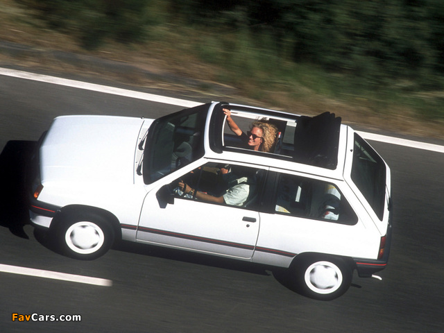 Pictures of Opel Corsa Steffi Graf Special (A) 1986–89 (640 x 480)