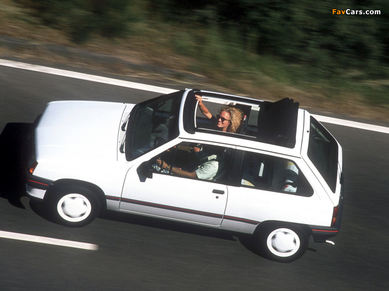 Pictures of Opel Corsa Steffi Graf Special (A) 1986–89 (800 x 600)