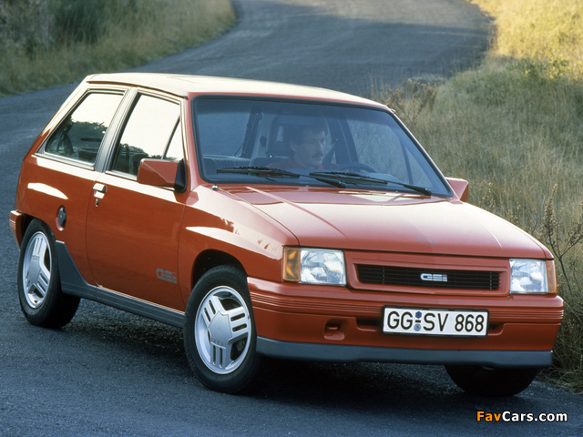 Pictures of Opel Corsa GSi (A) 1988–90 (640 x 480)
