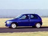 Pictures of Opel Corsa 3-door (B) 1997–2000