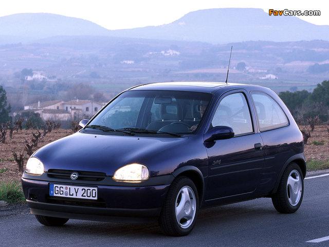 Pictures of Opel Corsa Swing 3-door (B) 1998–2000 (640 x 480)
