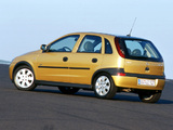 Pictures of Opel Corsa 5-door (C) 2000–03