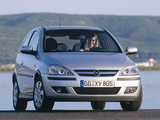 Pictures of Opel Corsa 3-door (C) 2003–06