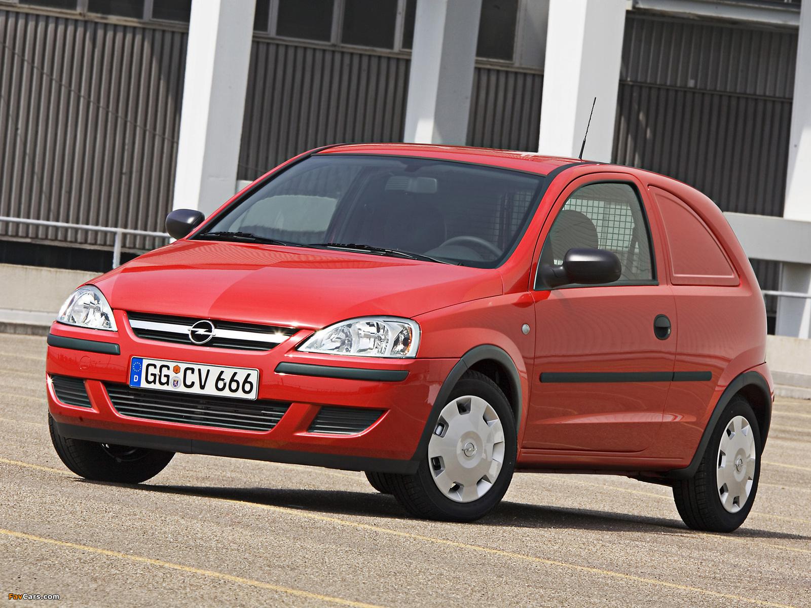 Pictures of Opel Corsavan () 2003–07 (1600 x 1200)