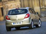 Pictures of Opel Corsa 5-door (D) 2006–09