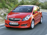 Pictures of Opel Corsa GSi (D) 2008–10