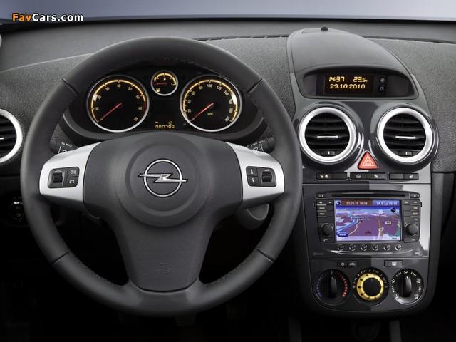 Pictures of Opel Corsa 3-door (D) 2010 (640 x 480)