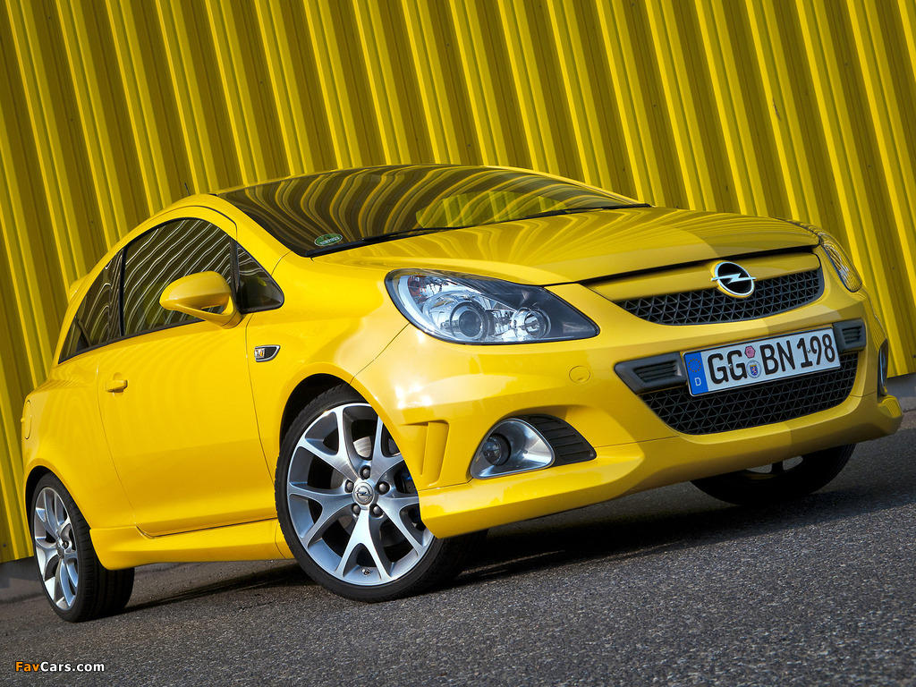 Pictures of Opel Corsa OPC (D) 2010 (1024 x 768)