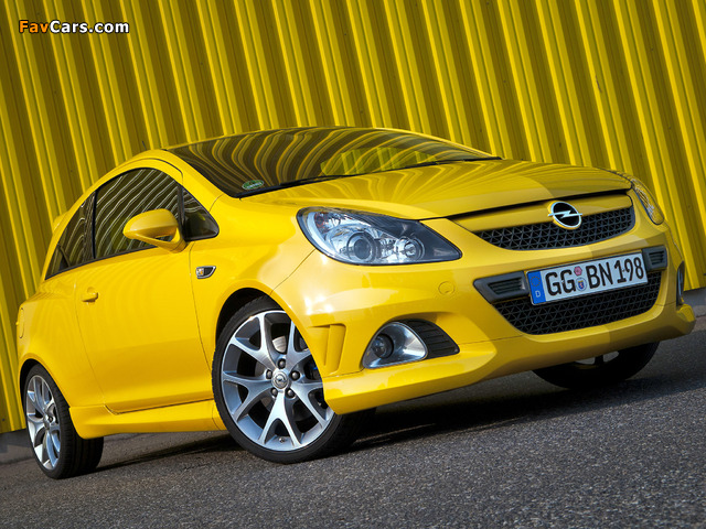Pictures of Opel Corsa OPC (D) 2010 (640 x 480)