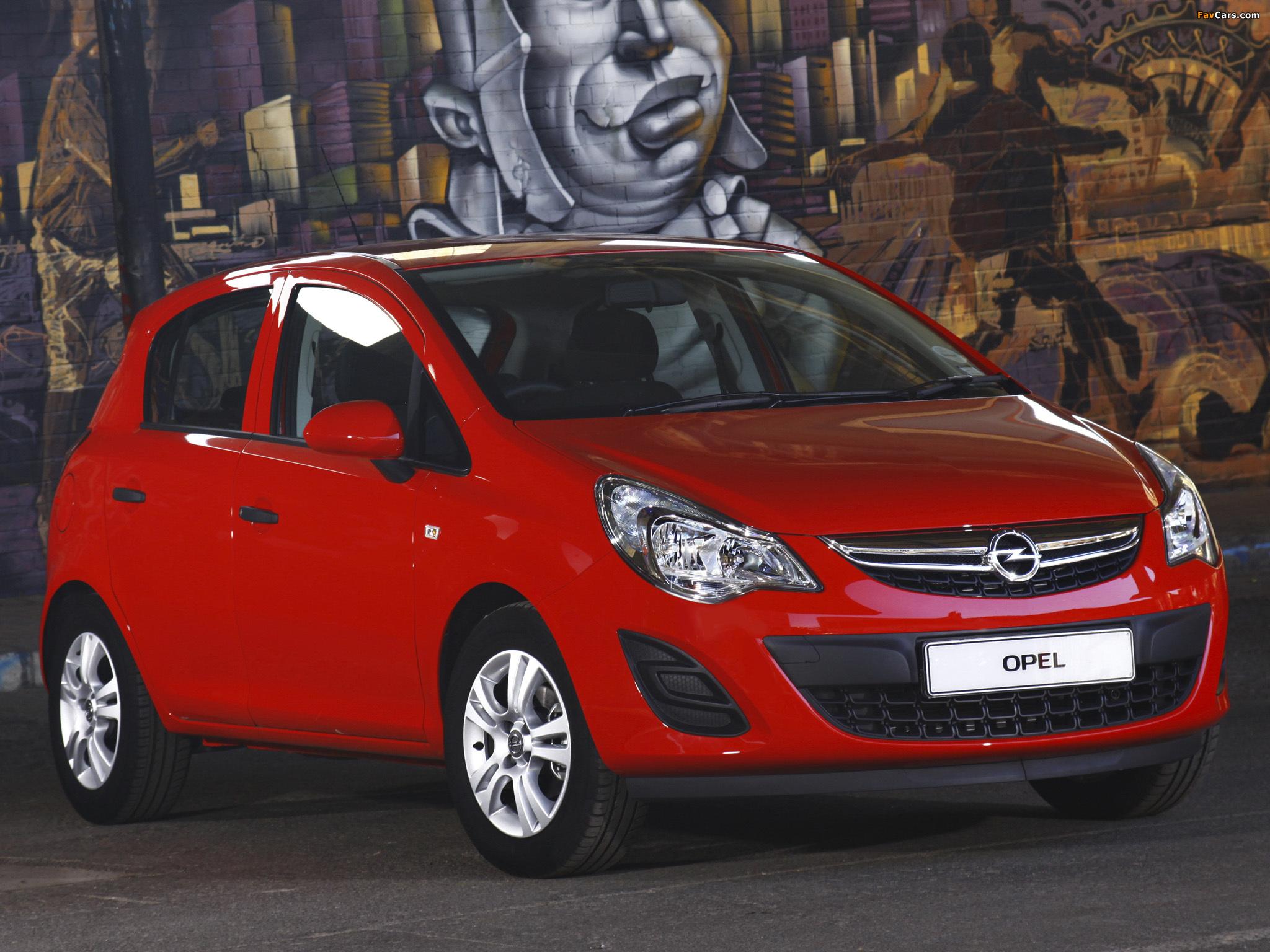 Pictures of Opel Corsa 5-door ZA-spec (D) 2011 (2048 x 1536)
