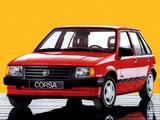 Opel Corsa 5-door (A) 1986–90 wallpapers