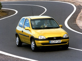 Opel Corsa 3-door (B) 1997–2000 wallpapers