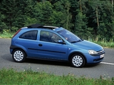 Opel Corsa Canvas Top (C) 2000–03 wallpapers