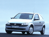 Opel Corsavan (C) 2000–03 wallpapers
