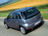 Opel Corsa 5-door (C) 2003–06 wallpapers