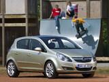 Opel Corsa 5-door (D) 2006–09 wallpapers