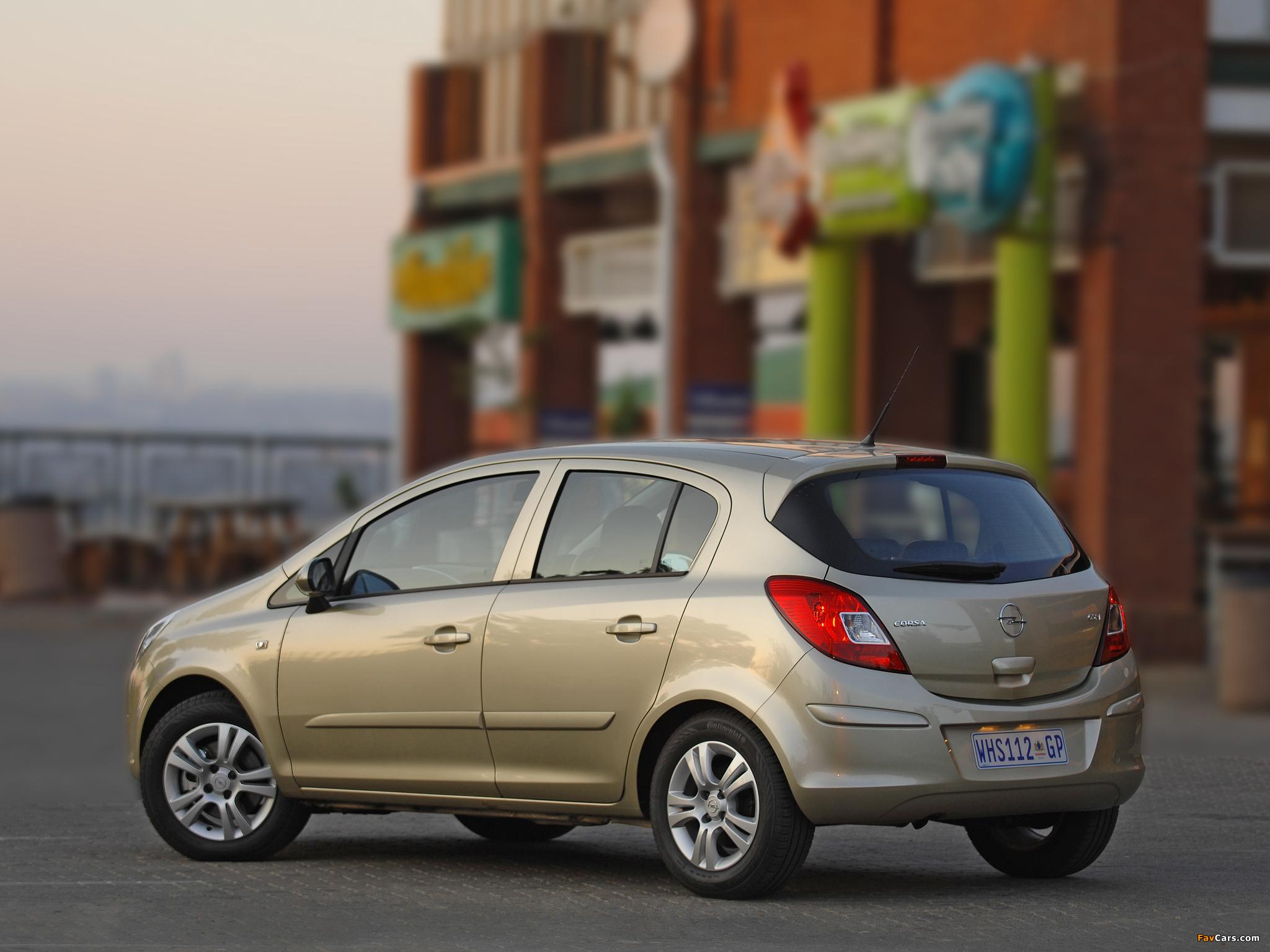 Opel Corsa 5-door ZA-spec (D) 2007–09 wallpapers (2048 x 1536)