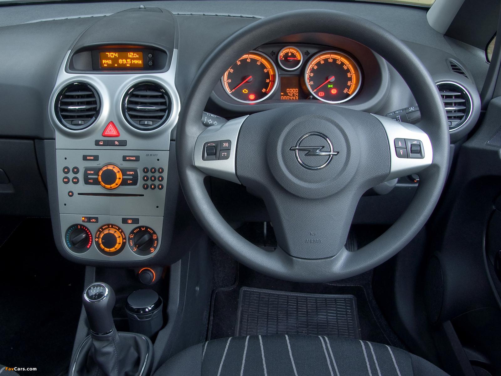 Opel Corsa 5-door ZA-spec (D) 2007–09 wallpapers (1600 x 1200)