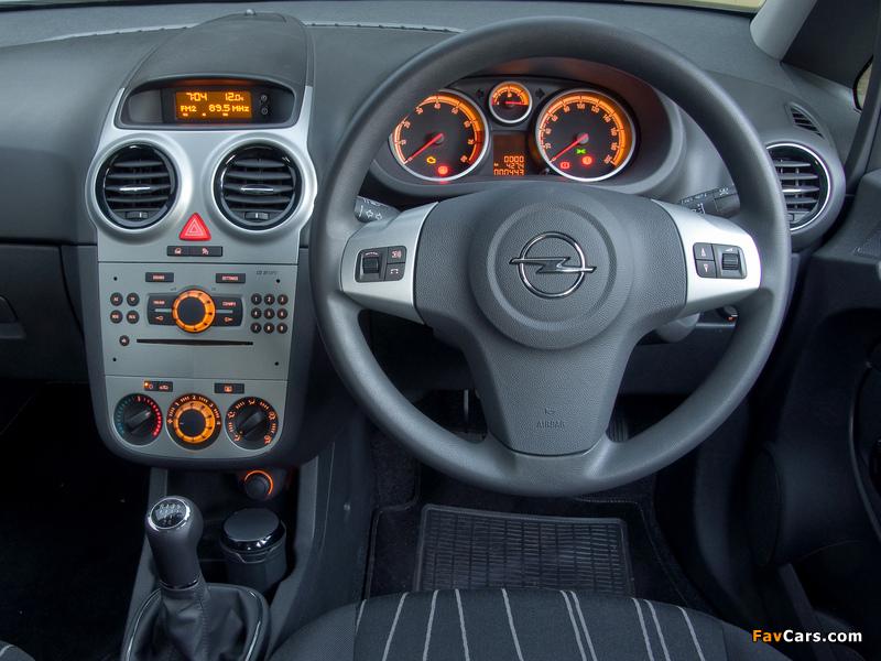 Opel Corsa 5-door ZA-spec (D) 2007–09 wallpapers (800 x 600)