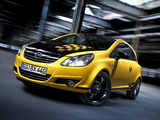 Opel Corsa Color Race (D) 2010 wallpapers