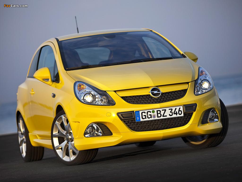 Opel Corsa OPC (D) 2010 wallpapers (1024 x 768)