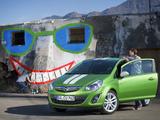 Opel Corsa Linea 3-door (D) 2010 wallpapers