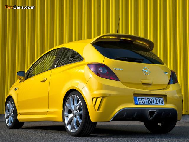 Opel Corsa OPC (D) 2010 wallpapers (640 x 480)