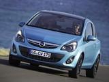 Opel Corsa Color Edition 3-door (D) 2010 wallpapers