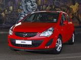 Opel Corsa 5-door ZA-spec (D) 2011 wallpapers
