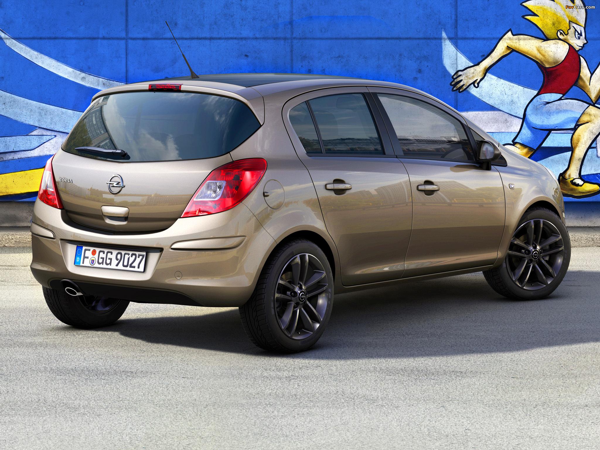 Opel Corsa Kaleidoscope Edition 5-door (D) 2012 wallpapers (2048 x 1536)
