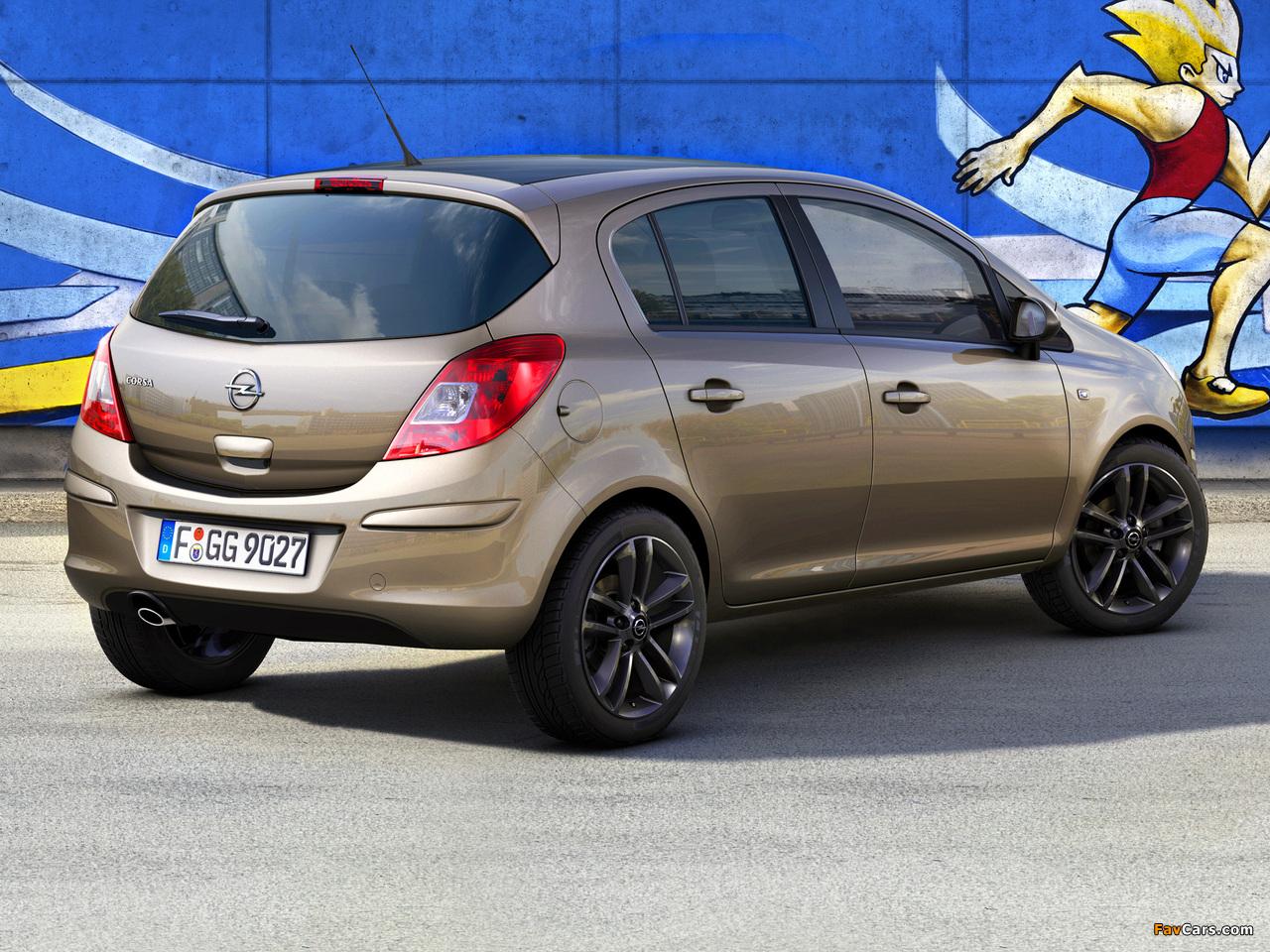 Opel Corsa Kaleidoscope Edition 5-door (D) 2012 wallpapers (1280 x 960)