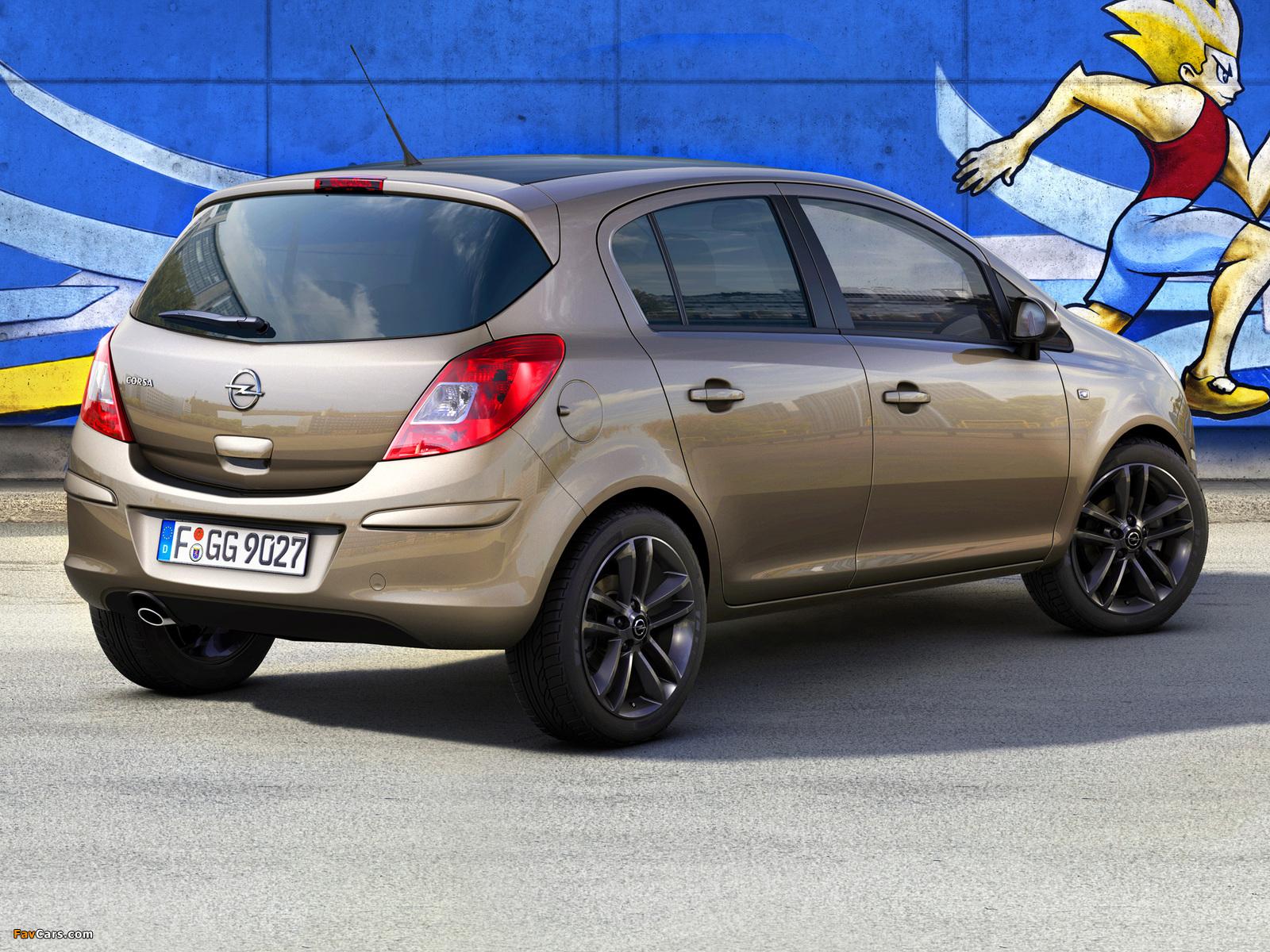 Opel Corsa Kaleidoscope Edition 5-door (D) 2012 wallpapers (1600 x 1200)