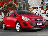 Opel Corsa 3-door AU-spec (D) 2012–13 wallpapers