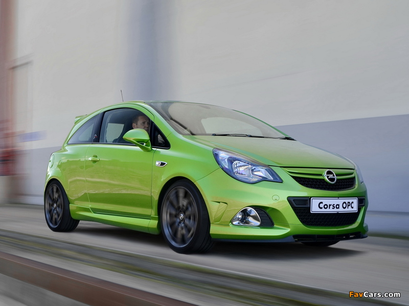 Opel Corsa OPC Nürburgring Edition ZA-spec (D) 2013 wallpapers (800 x 600)
