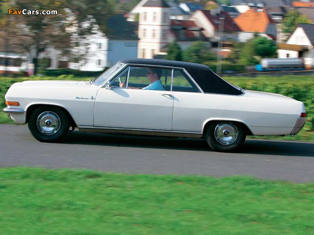 Opel Diplomat V8 Coupe (A) 1965–67 photos (640 x 480)