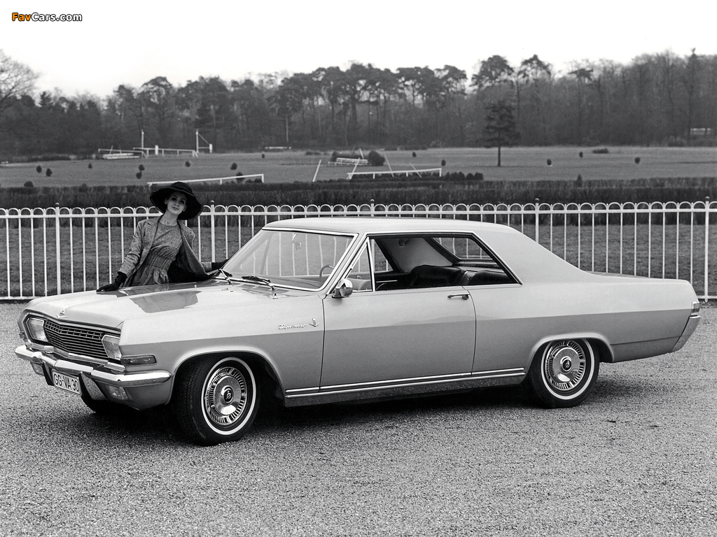 Opel Diplomat V8 Coupe (A) 1965–67 pictures (1024 x 768)