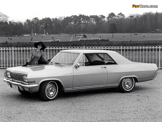Opel Diplomat V8 Coupe (A) 1965–67 pictures (640 x 480)