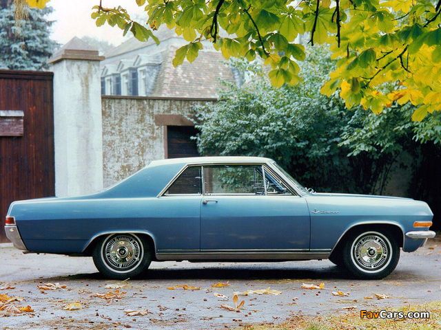 Opel Diplomat V8 Coupe (A) 1965–67 wallpapers (640 x 480)