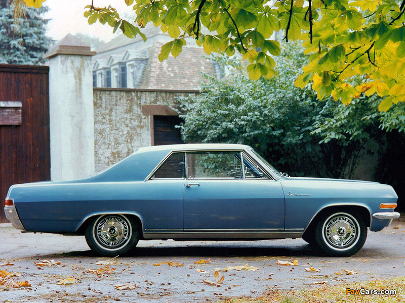 Opel Diplomat V8 Coupe (A) 1965–67 wallpapers (800 x 600)